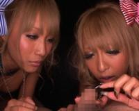 泉麻耶&桜りおのダブルギャルの視姦手コキでドMなワイは無情にもイってしまいすたwww