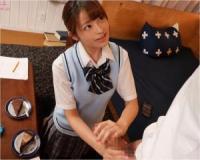 小悪魔痴女JKが1分間も我慢出来ない早漏先輩を意地悪手コキ!桜もこ