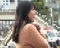 【人妻ナンパ】築地の路上でナンパしたHカップのむっちり奥様と中出しセックス