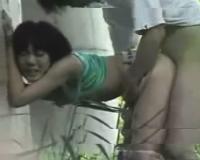 【個人撮影】新幹線の高架下でSEXしてる少年少女カップルを隠し撮り!