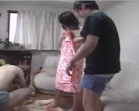 【個人撮影】どこにでもいる夫婦が初めてスワッピングに参加した緊張の密着ドキュメント映像!!その2