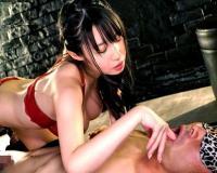 ◆無料動画◇デカパイ嬢の性感テクニックにフル勃起■□ExtremeTube□■