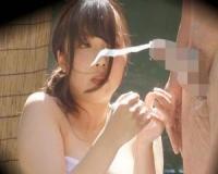 美巨乳JDのS級お嬢さんが「タオル一枚 男湯入ってみませんか?」企画のミッションで、手コキ抜きしてどっぷり搾り取っちゃう!