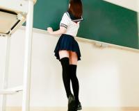 「かうわいいいWWW」スレンダー巨乳の制服美少女JKに痴女られギンギンチンポ鬼射精WWWWW