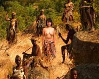 《原住民とSEX》『こんなに大きいチンポ初めてです///』ワケありおばちゃんがアフリカ国人のデカチンで巨根アクメ
