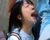 【JSレイプ】『苦しいよぉおお』ロリ娘が媚薬ガンギマリ状態で強姦されちゃうwww強引フェラで喉奥アクメ痙攣w