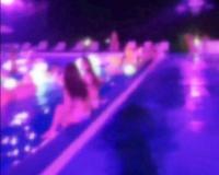 ナイトプールにいた巨乳の水着ギャルをナンパ!素人だけどめちゃくちゃエロくて即パコハメ撮り