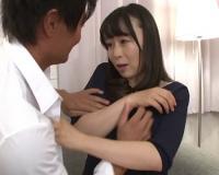 【人妻熟女NTR】「あ、ちょっとダメですぅ…♡」スレンダー巨乳おっぱいの母乳が出る美魔女おばさんが夫の同僚に寝取られる!
