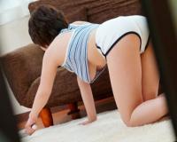 [奥田咲]偶然見えてしまった巨乳お姉さんの魅惑の乳房…チ〇ポはビンビンに膨れ上がり突きまくりw