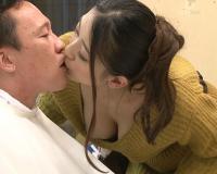 【おっぱい露出逆レイプ】『たくさん抜いたゲル♡』スケベ理容師の淫乱スレンダーお姉さんギャルが乳首責め手淫でM男調教責め!