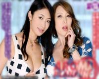 【風間ゆみ 小早川怜子】エロケバ美熟女たちにおチンチンを逆3Pセックスで下品責め!白濁汁搾り取り!