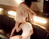 【膣内射精】「ほら、おまんこみて!」神パイスレンダーボディの痴女GALがB地区せめ拷問ファックされちゃうwww