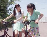 【自転車企画】「これエッチなサドル何だって!」巨根とサドルに酔って愛液モレモレになるお姉さんたちwwww
