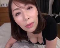 【翔田千里】五十路のむっちり巨乳な高齢熟女が、とろ~り中出しセックスしちゃう!