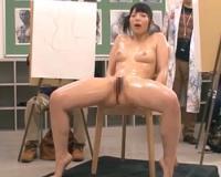 【上原亜衣】モデルの美女がみんなに見られて興奮してエッチしちゃいます。