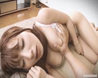 園田みおん おれの巨乳彼女を調教中w 首輪付けてちんぽ舐めさせしっかり顔射をしちゃいますw