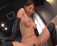 篠田あゆみ Iカップ絶品ボディお姉様に騎乗位で中出しSEX