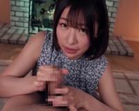 宮島めい 溢れる透明感とFカップ美巨乳が素晴らしい19歳美少女がAVデビュー作で初フェラ抜き!