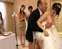 有村千佳 水嶋あずみ ほか 新郎が花嫁がお父さんがスパンスパンハメまくる乱交結婚式がコレ!あっちこっちでイクイク!