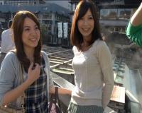 【人妻ナンパ】旦那と子供を置いて草津温泉旅行に来ていたママ友に混浴でフル勃起チンポを見せつけた結果w