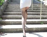 【みつ葉】ショートカット巨乳の激カワ美少女が軽い気持ちでAV出演、パンティーをズラしてチンポを挿入する激ピストンハメ撮りセックス!!