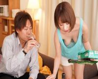 【OL逆NTR】美人女子社員が自宅で彼女持ちの同僚を痴女化してノーパンノーブラで誘い逆寝取り!《桃乃木かな》