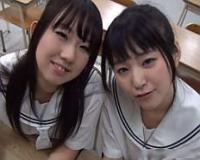 【無】仲良し口リ口リ美少女2人組が鬼畜男達に無垢マムコをハメられ連続中出し♪