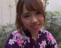 【無】甘えん坊なエロカワ彼女と浴衣姿で完全主観のイチャラブ中出しデート♪