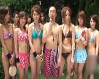 【無】極上美女6人乱れ咲き!オンナだらけのドキドキ中出し乱交水泳大会♪