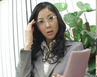 【おすすめ・モ無】 立花瞳「アッチも任せて!敏腕社長秘書」 第1話