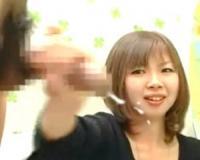 【赤面手コキ】「ギンギンになってきてる…」介護士が優しく手コキ抜き!大量射精に放心状態に!/素人AV出演/大量射精