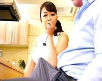【素人】前園はる 「お、大きいわッ!」冠番組をもつ人妻巨乳料理研究家がデカチンに興奮!【tube8】