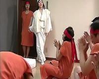 【ヘンリー塚本】怪しい宗教団体で全裸にされる巨乳美女!そのまま洗脳セックスに突入【sharevideos】